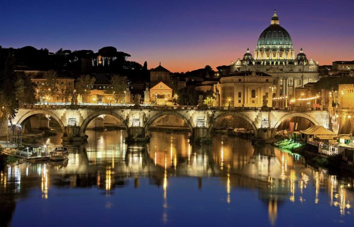 rome tour by night